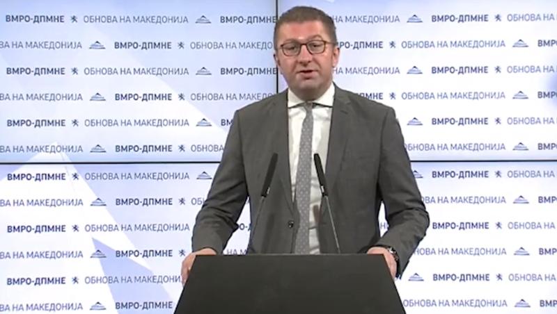 (Видео) Мицкоски: Заев бил премиер, судија и обвинител, утре протест против главата на Рекетот