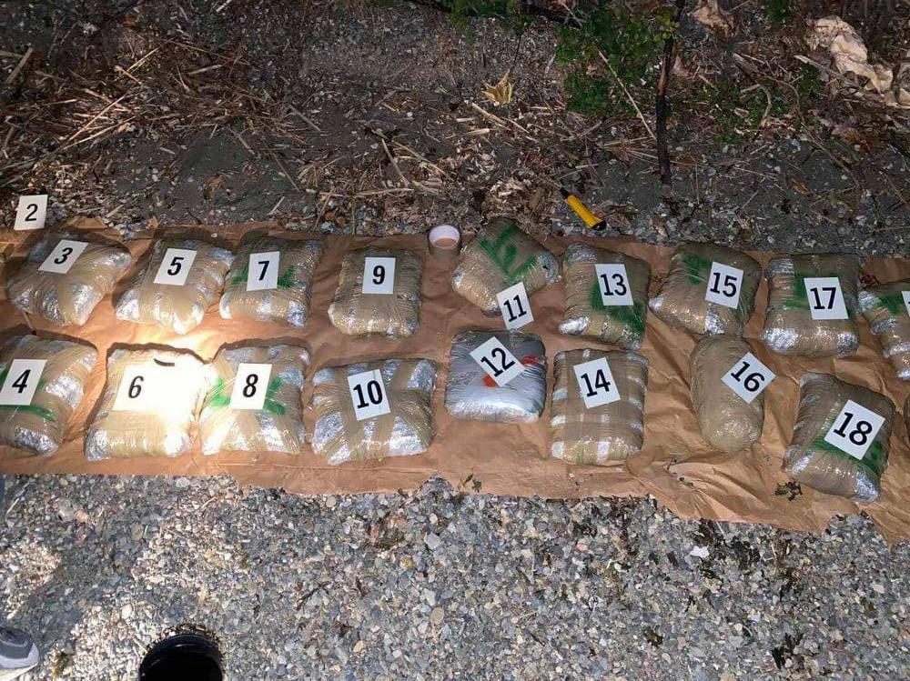 """Полицијата пронајде над 100 килограми марихуана пловен објект кај струшка """"Рампа"""""""