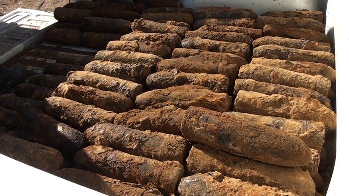Кај Тумбе Кафе има околу 10.000 гранати од Првата светска војна, уништувањето ќе почне во декември