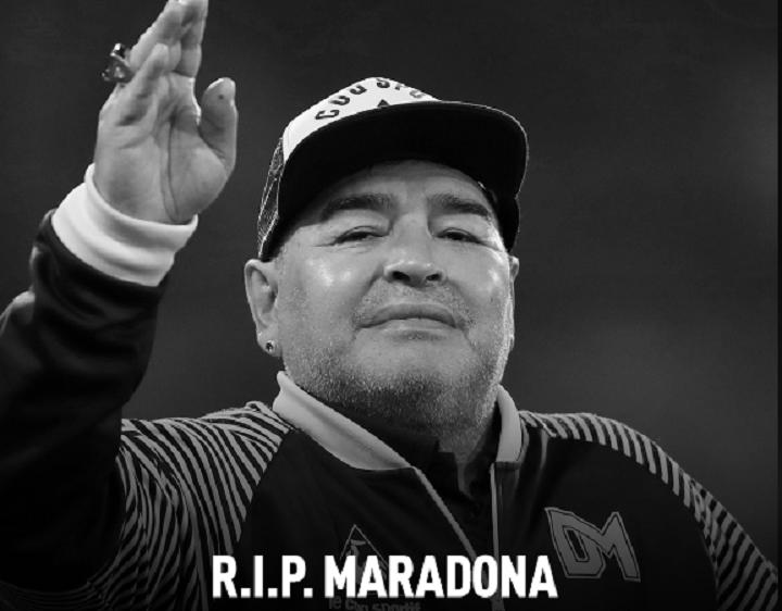 Почина Диего Армандо Марадона